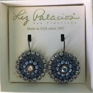 Liz Palazzo Pierced earrings withSwarovski Crystal